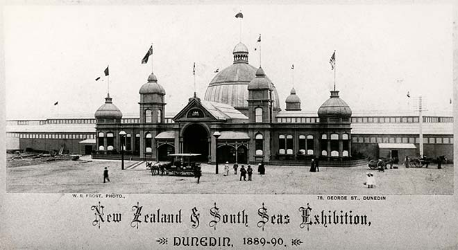 Exhibition buildings, Dunedin, 1889–90