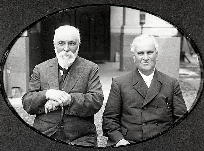 Robert Stout and John Macmillan Brown.