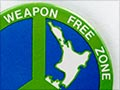 Nuclear-free New Zealand badge