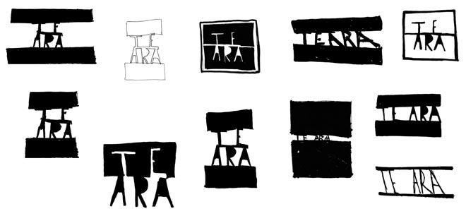 Versions of the Te Ara logotype