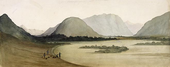 William Fox, 'The Mangles grass valley ... 15 Feb 46'