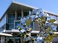 New Christchurch airport terminal building