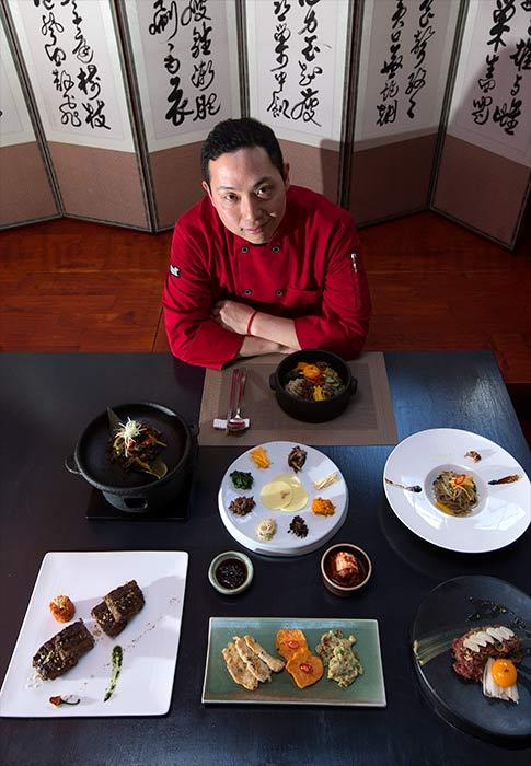 Alex Kim, chef