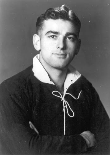 Manuera Benjamin Riwai Couch in his rugby-playing days