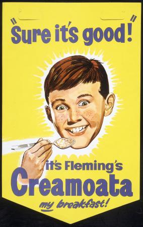 Advertisement for Creamoata