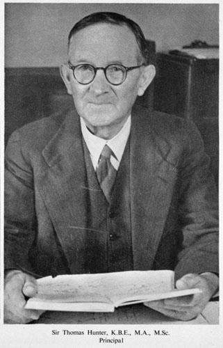 Portrait of Thomas Alexander Hunter, about 1949.
