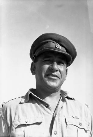 Kīngi Āreta Keiha at Maadi, Egypt, in August 1943