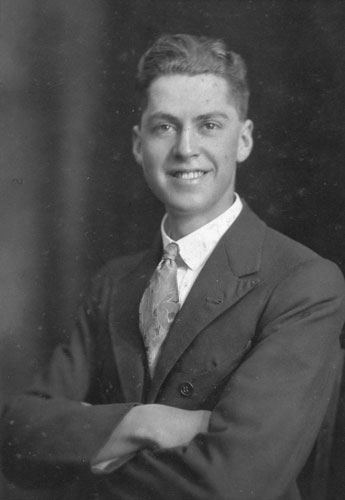 Leslie Kelly, about 1925