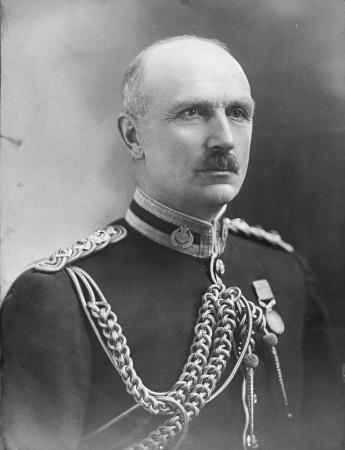 Robert Logan photographed during the First World War