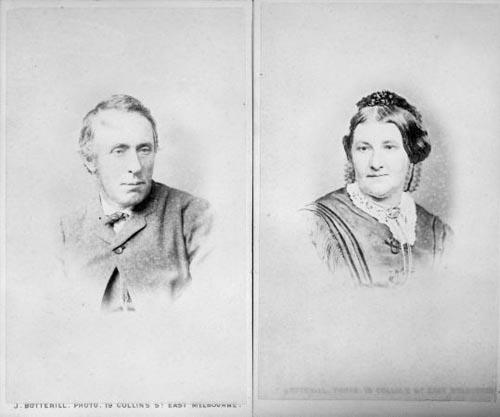 Thomas Mason and his wife, Jane