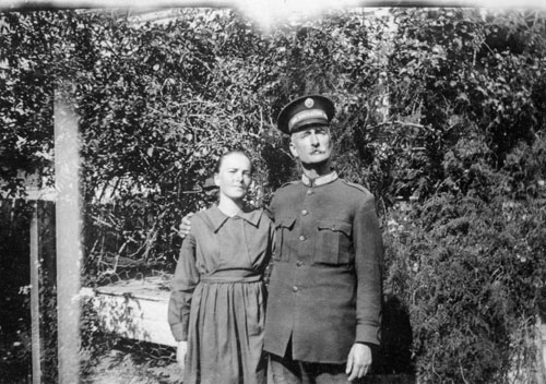 George Moore, pictured in his Salvation Army uniform, and his daughter Ruth Marie Moore