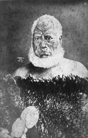 NgĀtuere Tāwhirimātea Tāwhao, about 1875