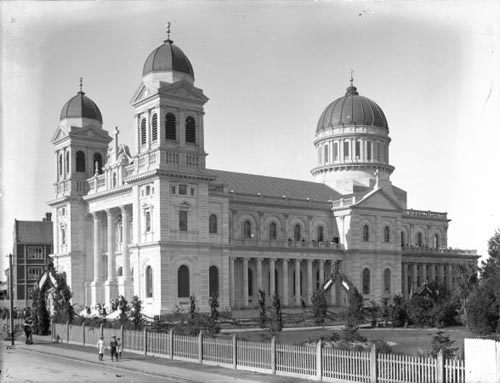 The Cathedral of the Blessed Sacrament, Christchurch, designed by Francis William Petre