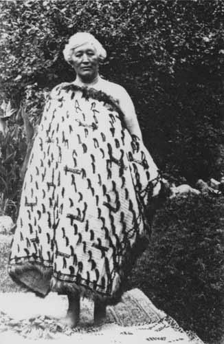 Hariata Whakatau Pitini-Morera, about 1930