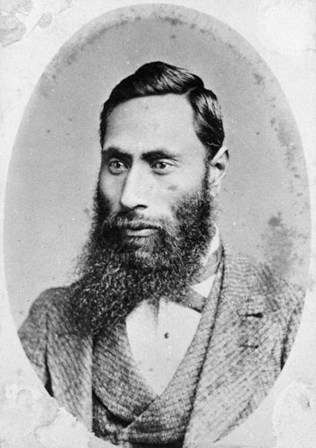 Hori Kerei Taiaroa, member of the House of Representatives for Southern Maori from 1871