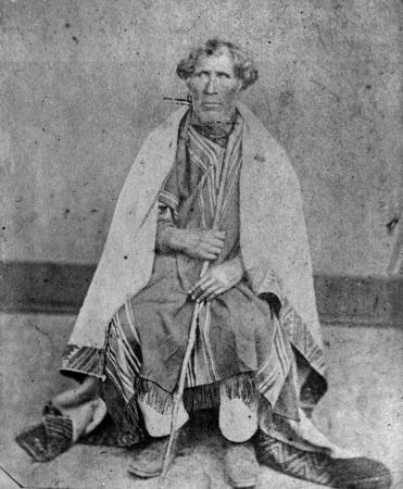 Te Mātenga Taiaroa, about 1860