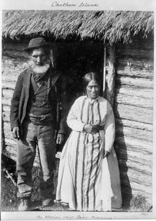 Hirawanu Tapu and his wife, Rohana