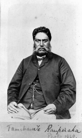 Tāmihana Te Rauparaha, 1869