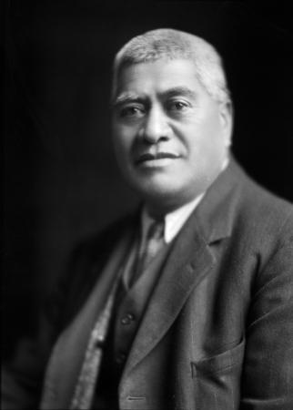 Te Taite Te Tomo, photographed in the early 1930s