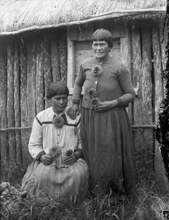 Rahui Te Kiri Tenetahi with her daughter
