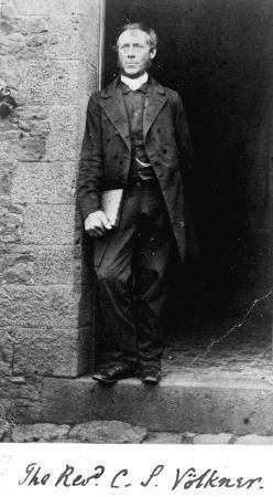 Carl Sylvius Völkner photographed by John Kinder