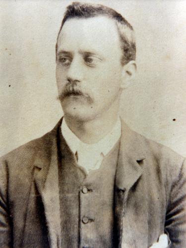 Joseph Thomas Ward, about 1891