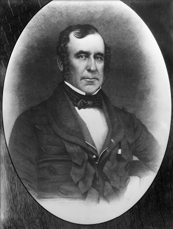 Engraved portrait of Robert Henry Wynyard