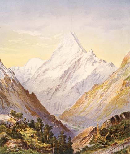 Aoraki/Mt Cook, 1875