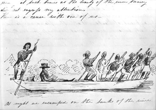 Canoeing up the Manawatū