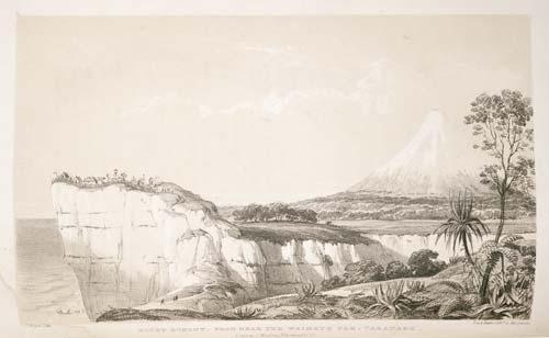 'Mount Egmont from near the Waimate Pah, Taranake'