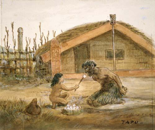 Maori Tapu: Tohunga Under Tapu