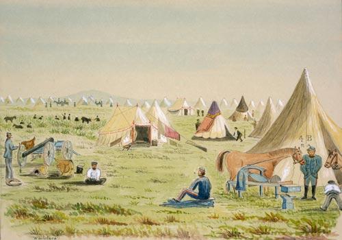 Waitōtara army camp
