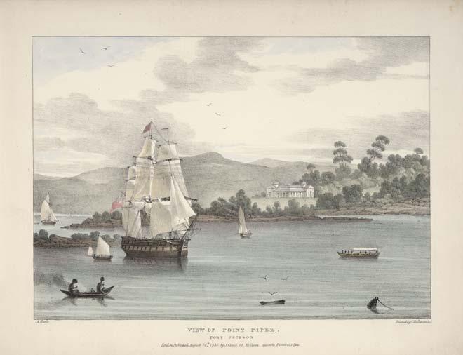 Port Jackson, Australia, 1830