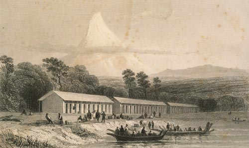 Immigration barracks, 1841