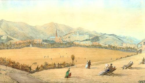 Basin Reserve, 1889