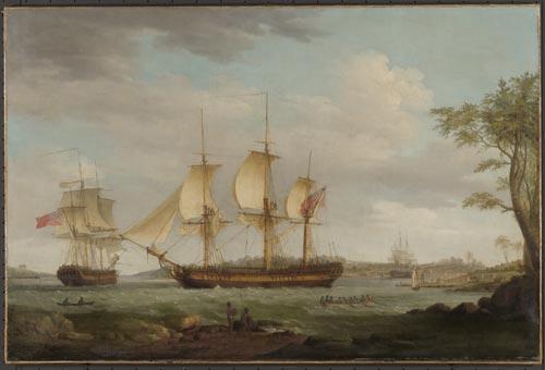 The whaler Britannia