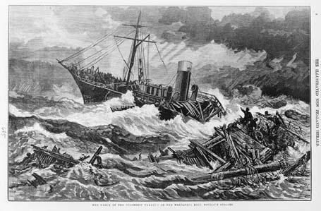 Wreck of the Tararua