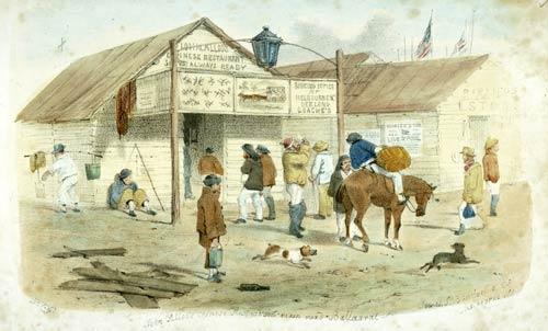 Ballarat australia 1855 gold and gold mining te ara for Australian cuisine history