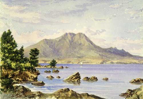 'Ko Tauhara mai i Taupō', nā Charles Barraud
