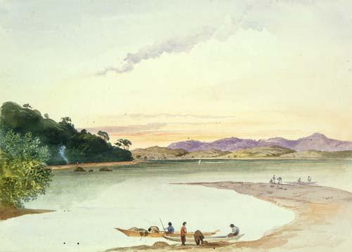 He kāinga ki runga o te awa o Kaipara, 1864