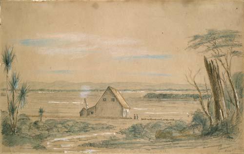 Burling's house