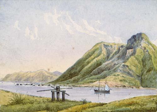 'Oterei boat harbour, Te Awaiti'