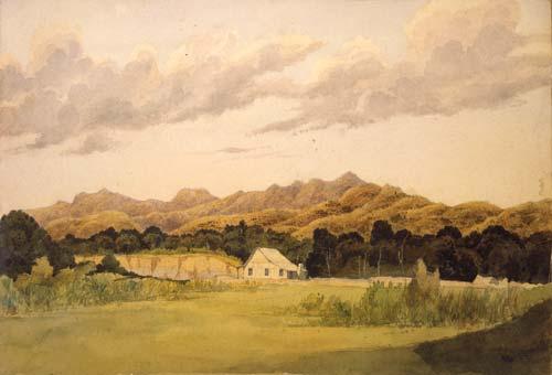 'Wairarapa hill farm, Haurangi [Aorangi] Range'