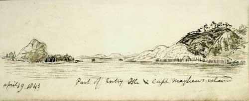 Tāhoramaurea, Motungārara and Kapiti islands, 1843