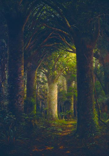 'The vaulted aisles of nature's cathedral'