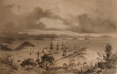 Kororāreka, April 1840