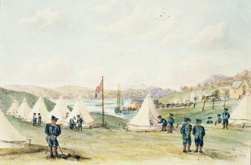 Drury naval camp