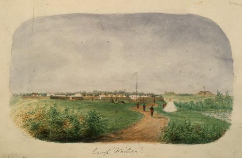 He puni ki Waitara, i 1860