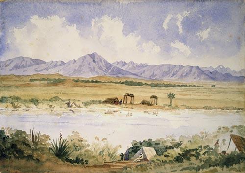 The Canterbury Plains, 1850