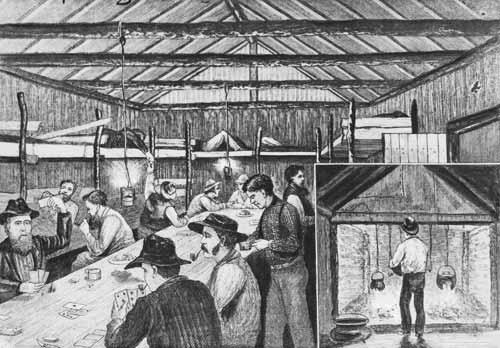 Men's quarters, 1885